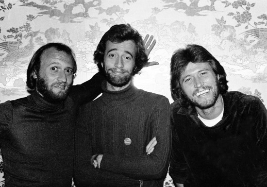 BEE GEES 1976-1977 PLAZA HOTEL, NYC