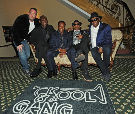 KOOL AND THE GANG NJHOF