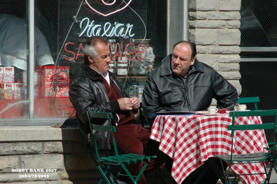 SOPRANOS - on location